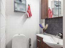 Alakerran uusittu wc