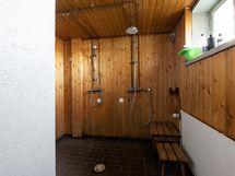 Talosaunan suihkutilat