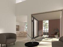 Havainnekuvat ovat arkkitehdin suuntaa antava, taiteellinen näkemys lopputuloksesta.
