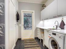 Oma uloskäynti kodinhoitohuoneesta on useimpien asunnonostajien yksi tärkeimpiä listauksia