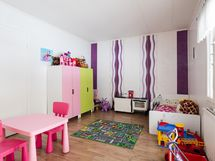 Makuuhuone/lastenhuone