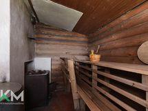 Sauna sisältä kuvattuna