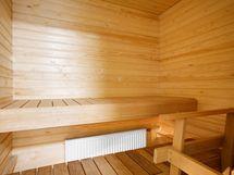 Oma sauna.