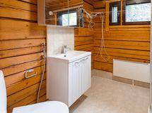 Pienemmän asunnon saunatilat