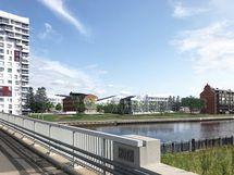 Näkymä Möljän sillalta