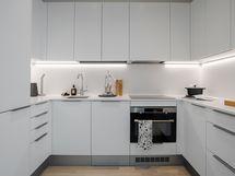 Loiston malliasunto A109 2h+kt 43,5 m2 + viherh. 4,5 m2: keittiötila