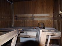 sauna yhteiskäytössä