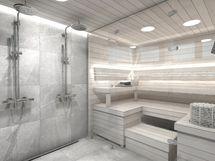 Sauna A8, sisustusmaailma KIVI