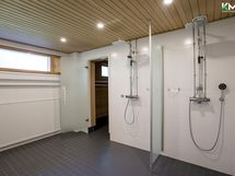 Taloyhtiön sauna osaston, kylpyhuone