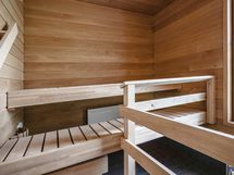Sauna on remontoitu 2020.