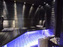 tunnelmallinen saunaosasto