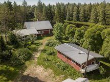 Mukavan kokoinen loma-asunto Kiiminkijoen rannalla