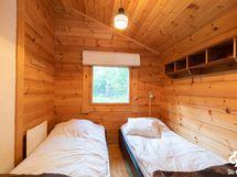 Vierasmökin makuuhuone