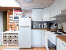 Huvilan keittiö