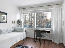 Makuuhuone, jossa kaapistot