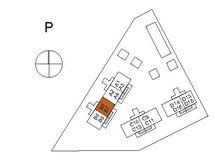 Asunnon B5 sijainti kerroksessa