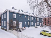 Siljonkadun sininen talo