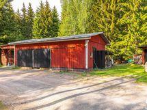 talousrakennus, autotalli, varasto / ekonomiebyggnad, garage, förråd