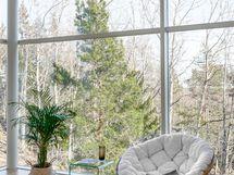 Suuret ikkunat luontoon