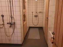 käynti saunaan