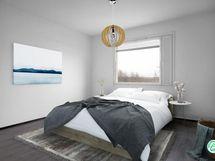 Digistailattu makuuhuone
