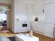 Asunto E32 2h+kt 48,0 m2 - keittiötila