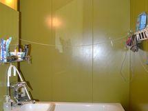 kylpyhuoneen remontointi saatu valmiksi 3.5.2021. Tämä kuva on vanha !