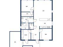 Mahdollinen pohja A-talo