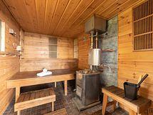 Tunnelmallinen sauna tarjoaa nautinnolliset löylyhetket