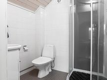 Yläkerran kylpyhuone/ wc