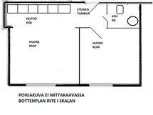 Pohjapiirros - Bottenplan