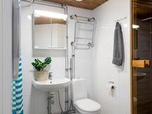 Kylpyhuone.