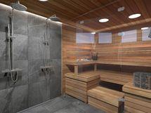 Sauna A8, sisustusmaailma HIILI