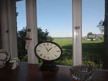 Ihana näkymä keittiön ikkunasta!
