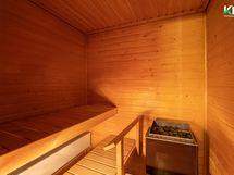 Oma sauna on hyvä juttu