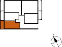 Asunnon B78 sijainti kerroksessa