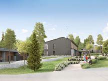 Omalle tontille rakennettava Asunto Oy Vaajakosken Opinharju sijaitsee Vaajakosken keskustan tuntumassa.