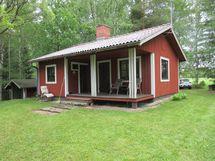 Mökki ja veranta