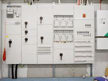 Toimistorakennuksen sähkökeskus