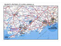 Nordcenterin sijainti kartalla