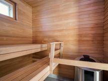 Kuntosalin sauna