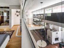 Olohuone ylhäältä kuvattuna