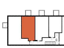 Asunnon C44 sijainti kerroksessa