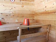 Mökki 1 sauna