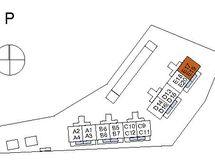 Asunnon E17 sijainti kerroksessa