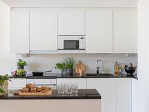 Havainnekuva D16 keittiö