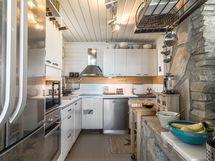 Tyyliä ja tunnelmaa keittiössä.