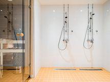 Taloyhtiön saunan suihkutila