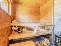 Sauna uusittu kokonaan v.2020