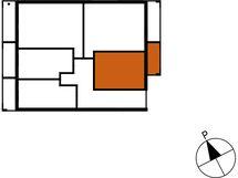 Asunnon B74 sijainti kerroksessa